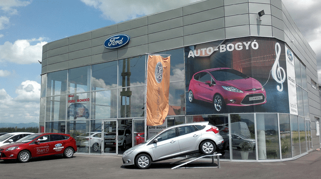 Salon auto Ford