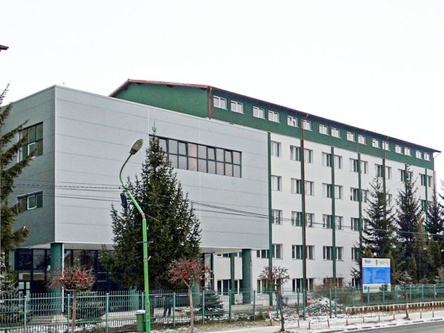 Cladirea noua al liceului Gabor Aron Targu Secuiesc